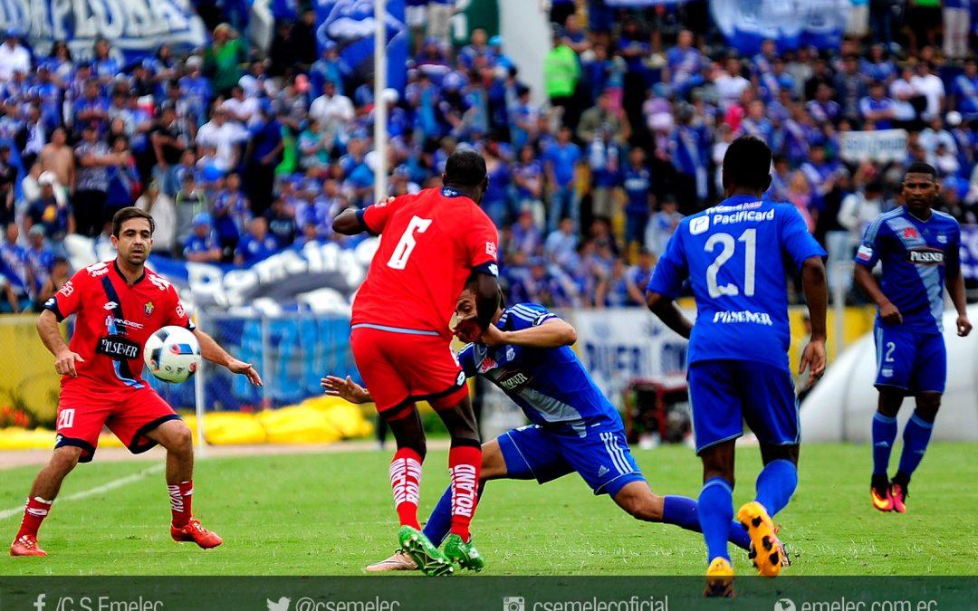 Emelec pierde ante El Nacional 3-1