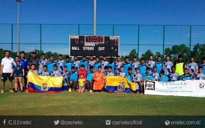 """Sub-14 de Emelec participa en torneo """"Disney Cup International"""" en Estados Unidos"""