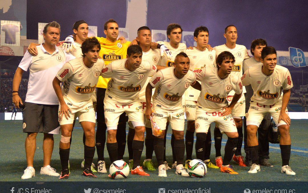 Universitario de Perú, primer rival de Emelec en la Copa Sudamericana