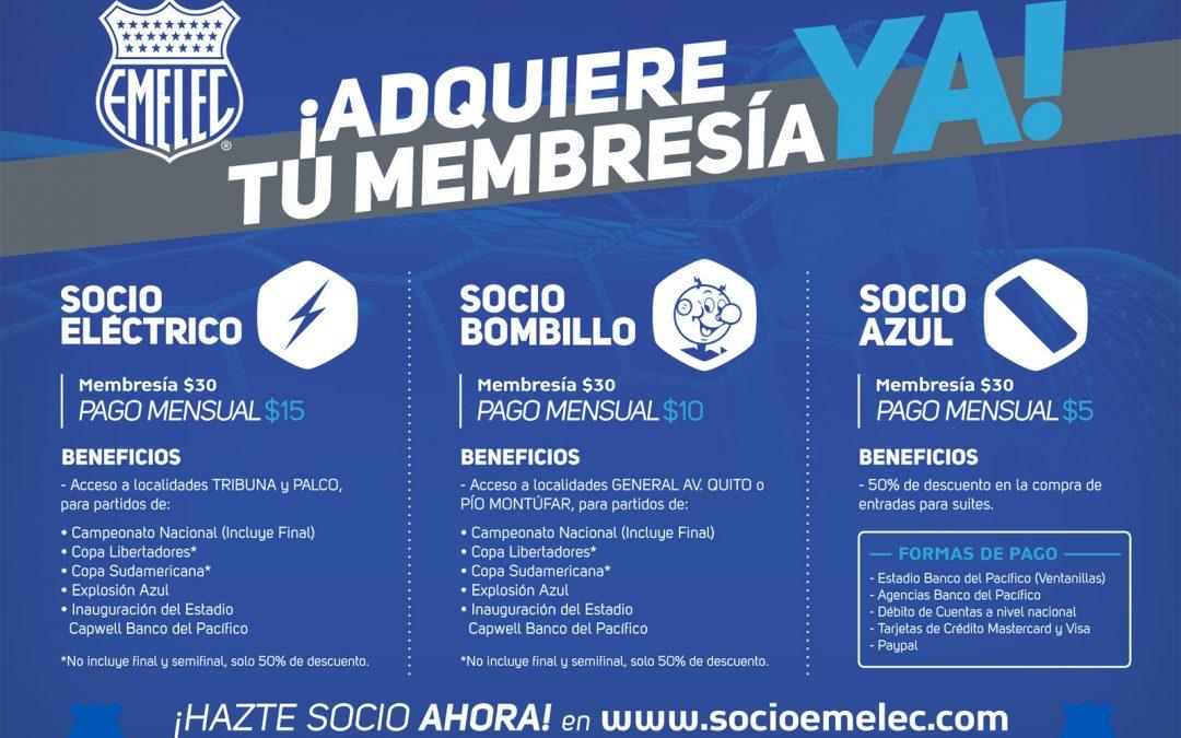 Emelec presenta su nuevo Plan de Socios con extraordinarios beneficios