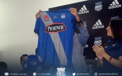 The new adidas clothing from Emelec