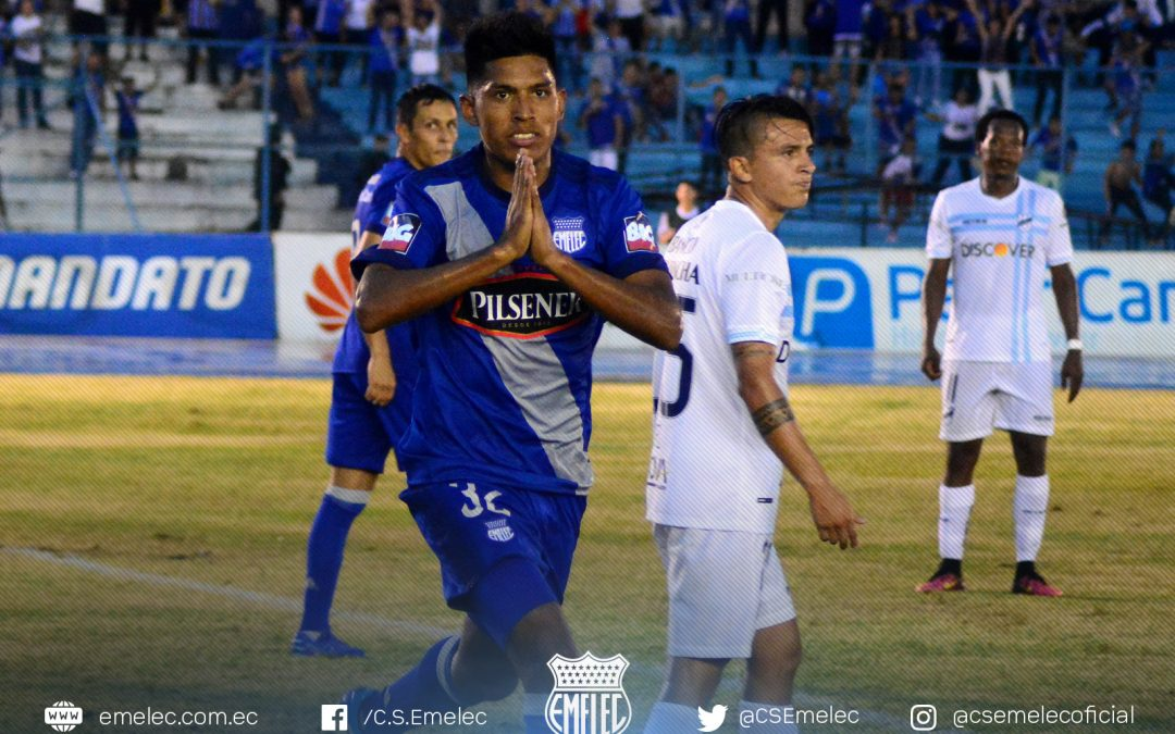 Emelec tied with Universidad Católica in the start of the Championship