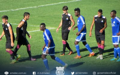 Emelec faces River Plate of Uruguay