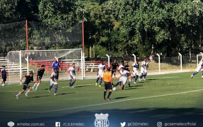 Emelec and River Plate of Uruguay tied in a match