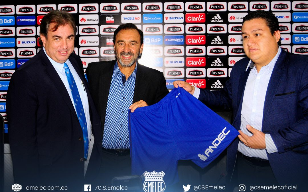 Emelec and ANDEC sign advertising alliance