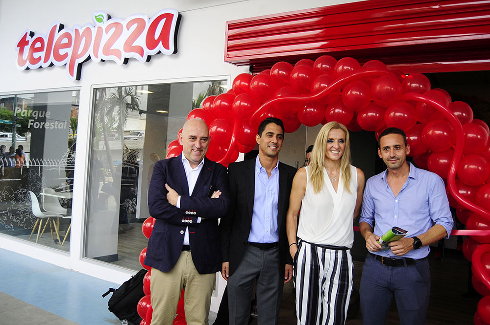 Telepizza inaugurated its premises in the Banco del Pacífico Capwell Stadium