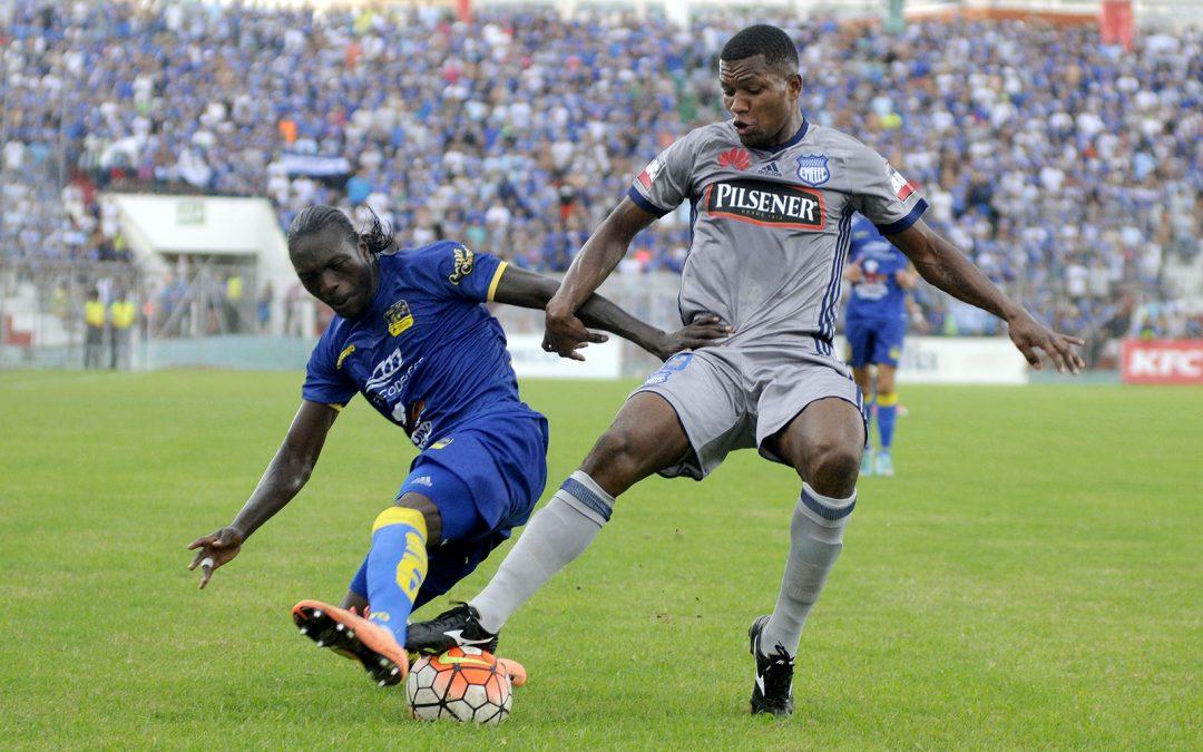 Emelec empata en Portoviejo, en un emocionante partido