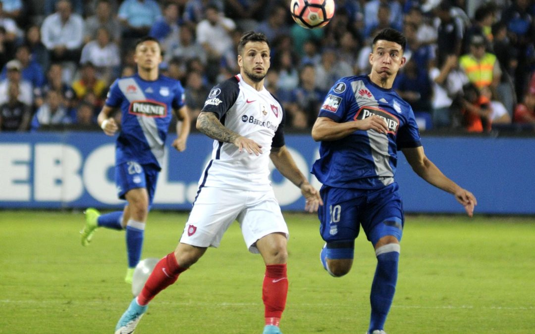 Árbitros y detalles del partido San Lorenzo VS Emelec