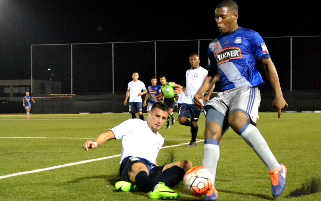 Emelec empató con Guayaquil City en el Estadio Christian Benítez