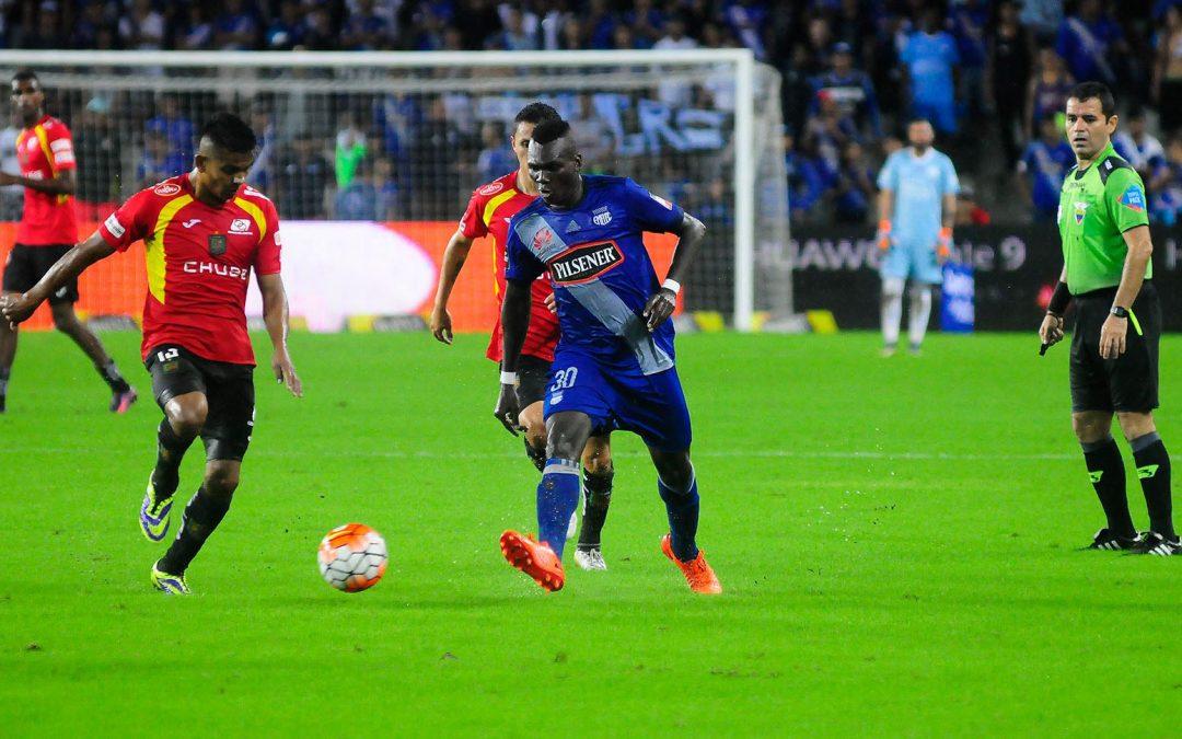 Árbitros y detalles para el partido Emelec – Deportivo Cuenca