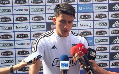"""Fernando Gaibor """"Queremos seguir en la racha en la que estamos"""""""