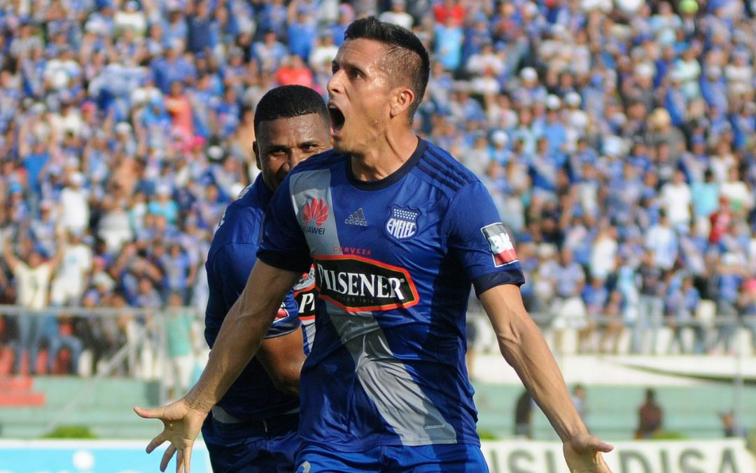 Marcos Mondaini renovó su contrato con Emelec