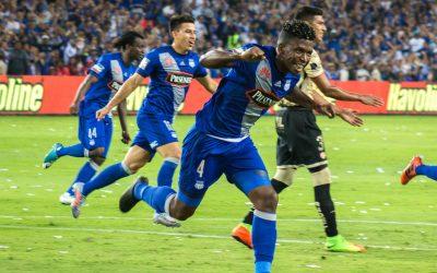 El Bombillo venció 3-0 a Barcelona y se consolida en el liderato