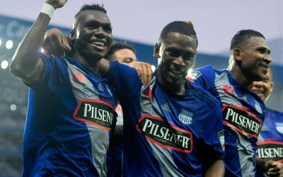 Emelec derrotó a Independiente y saca más ventaja en la tabla