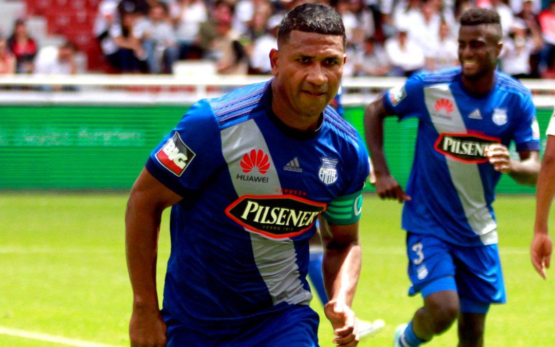 Jorge Guagua renovó su contrato con el Club Sport Emelec