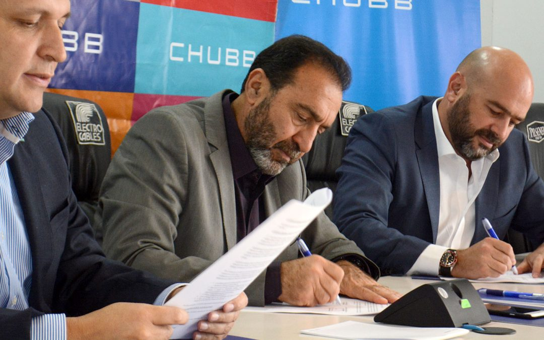 Chubb Seguros es el auspiciante oficial de las formativas de Emelec