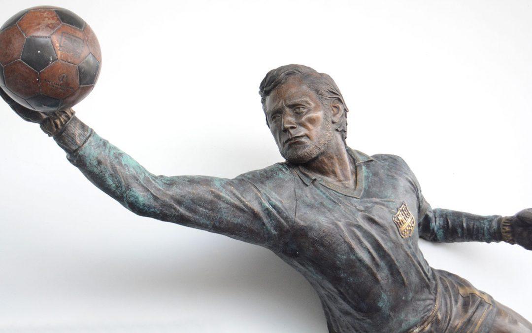 Eduardo García, el símbolo azul que desde hoy es inmortalizado en el Estadio Capwell
