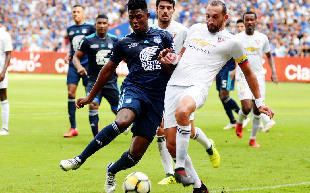 Emelec enfrentó a Liga de Quito por la fecha 6