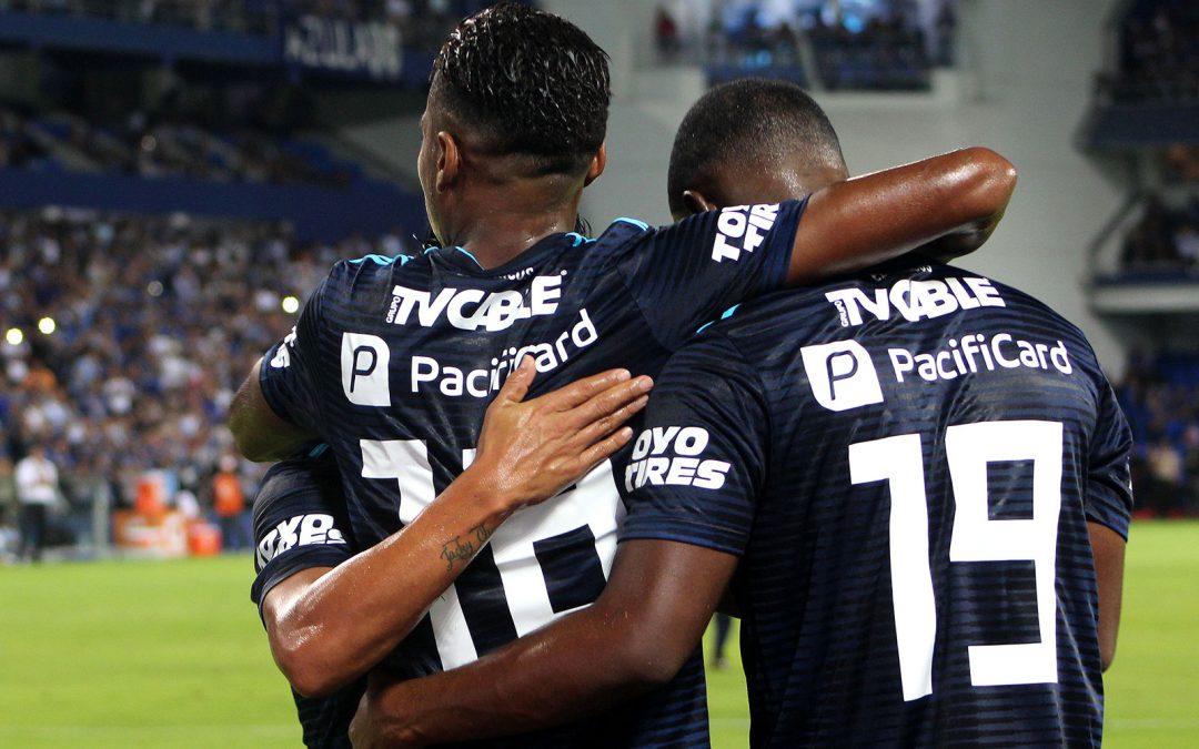 Tres goles frente a Guayaquil City para el liderato del torneo