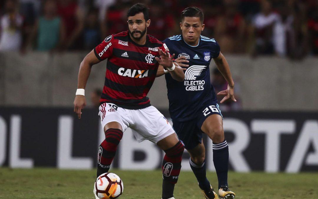 Flamengo derrotó a Emelec en el Maracaná