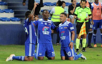 Emelec venció a El Nacional en el cierre de la primera etapa