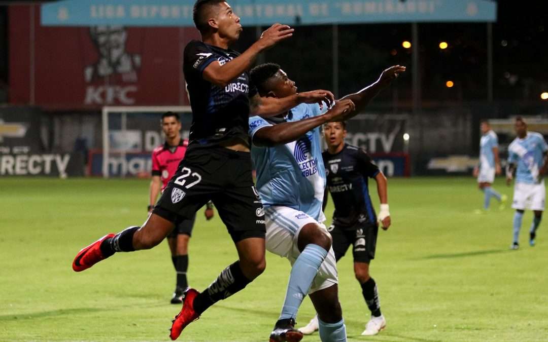 Emelec enfrentó a Independiente en Sangolquí