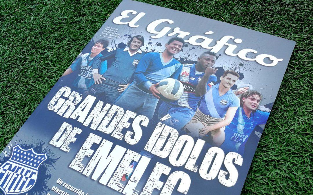 Revista El Gráfico lanza una 'edición histórica' sobre Emelec