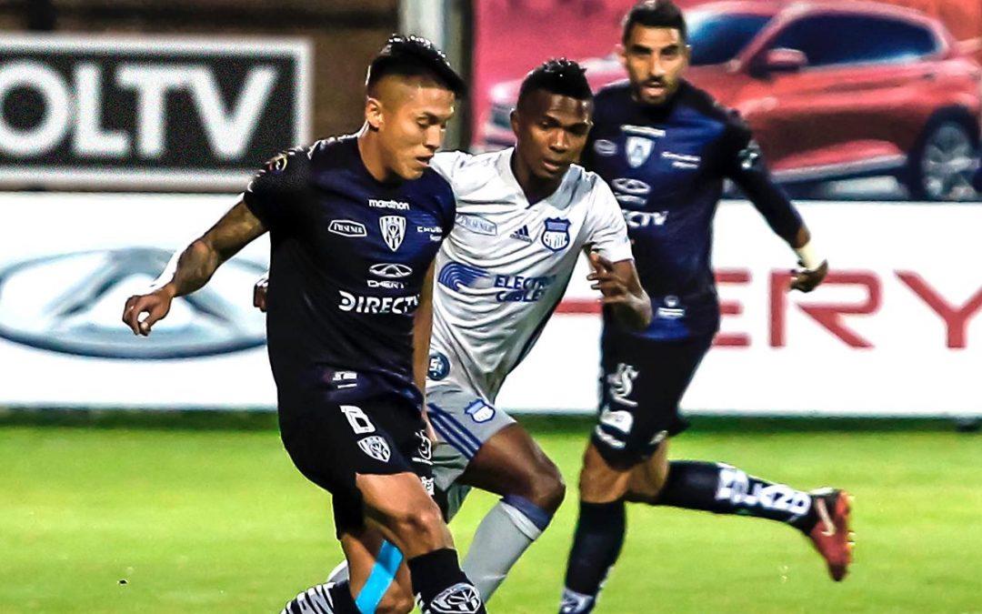 Emelec visitó a Independiente en Sangolquí