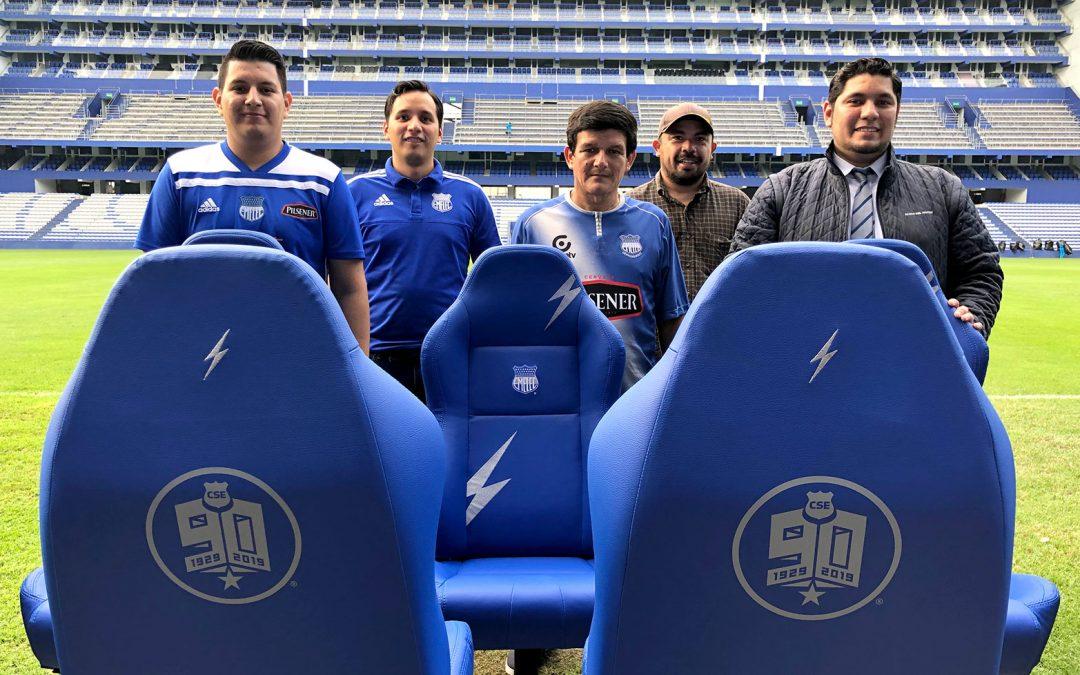 Estos son los afortunados ganadores de las sillas conmemorativas del 'Bombillo'