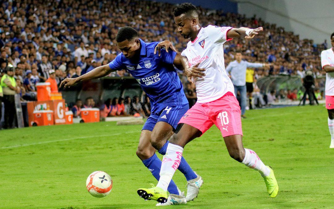 Emelec venció en emocionante partido a Liga, pero no avanzó en penales