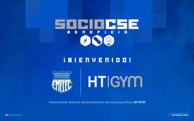 El Club Sport Emelec anuncia su nueva alianza comercial para sus socios.