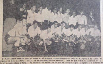 Emelec es el otro bitricampeón del fútbol profesional del Ecuador
