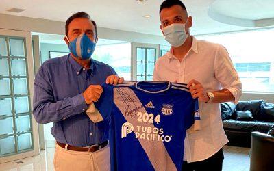 Aníbal Leguizamón, firme defensa del 'Bombillo' hasta el 2024