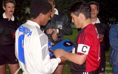 El día que Maradona enfrentó al Bombillo
