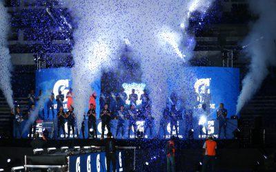 La Caldera vivió la Explosión azul
