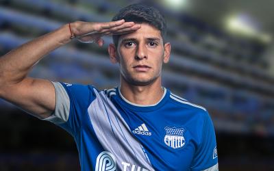 Facundo Barceló extiende su contrato con el Club Sport Emelec.