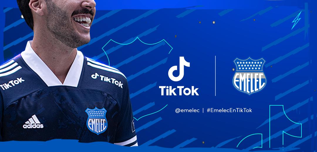 El Club Sport Emelec presenta su nueva camiseta de la mano de Adidas y TikTok